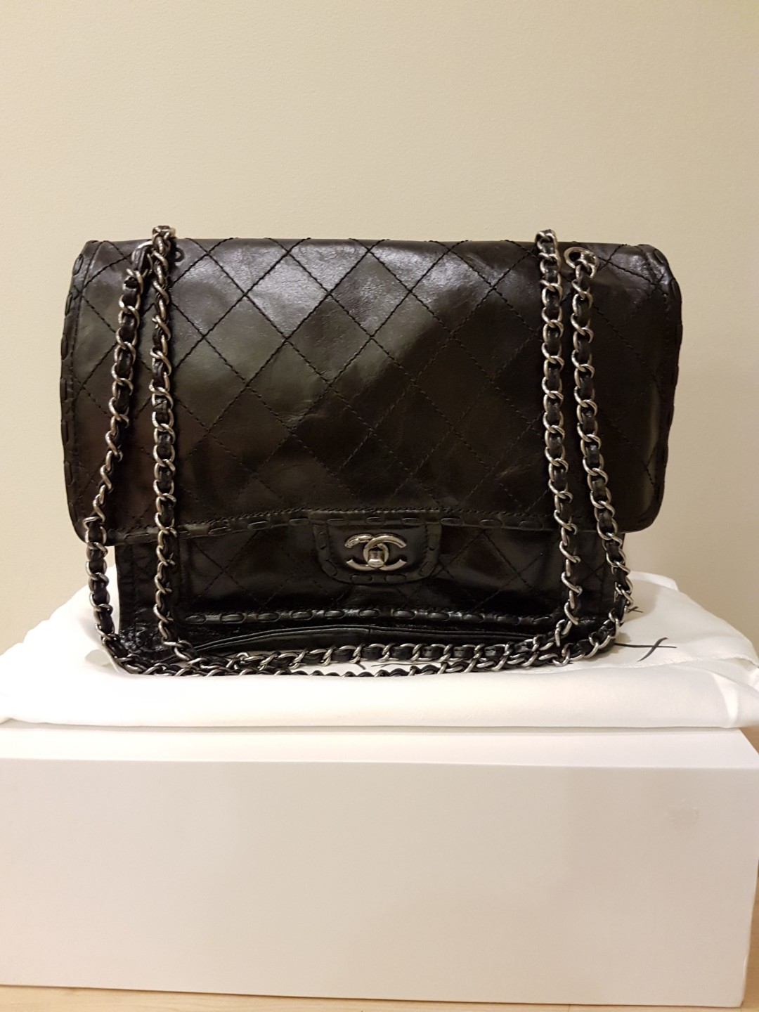Chanel Black Quilted Flap Bag