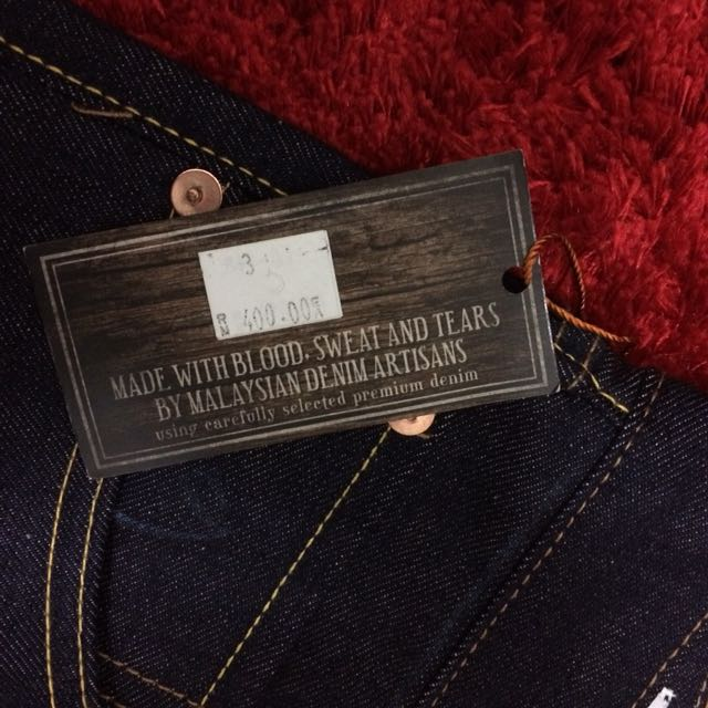 Cheese Denim Jeans Mens Fashion Clothes On Carousell