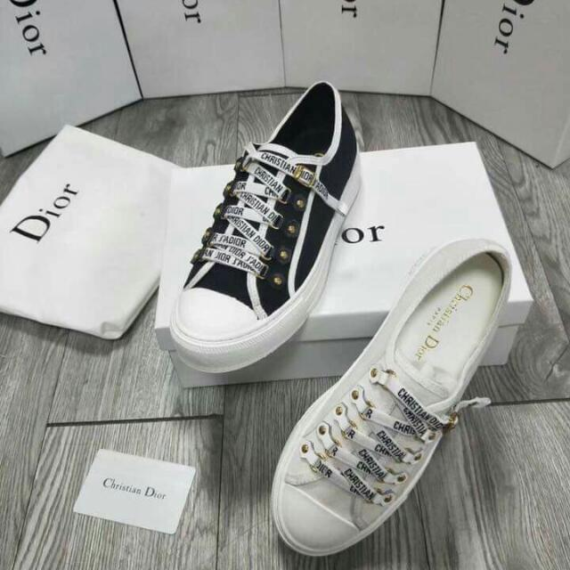 4143c77a042 Christian Dior J Adior Sneaker LOW-TOP TRAINER IN BLACK CANVAS Like ...