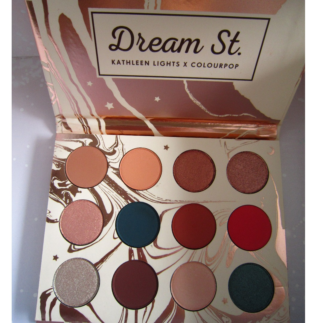 ColourPop x KathleenLights Dream Street Palette