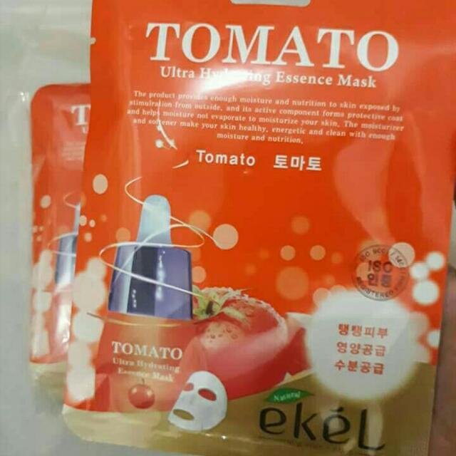 Ekel Tomato Ultra Hydrating Essence Face Mask