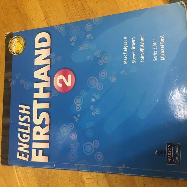 ENGLISH FRISTHAND 2#出清課本