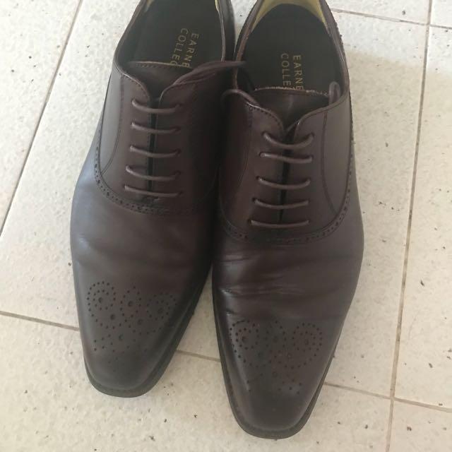 Ernest collection men's brown shoe