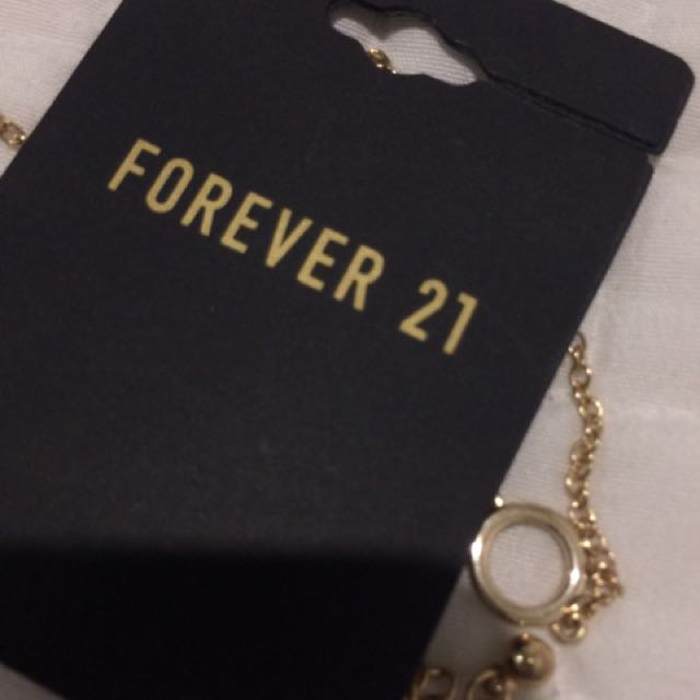 FOREVER21 CIRCLE NECKLACE