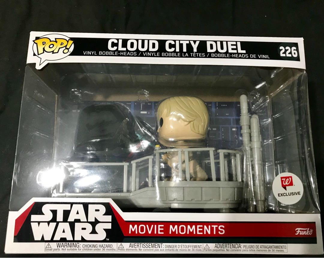 Funko Pop Star Wars Movie Moments 226 Cloud City Duel Walgreens Exclusive Toys Games Bricks Figurines On Carousell