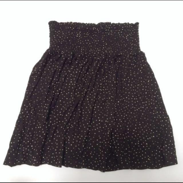 H&M polkadot skirt
