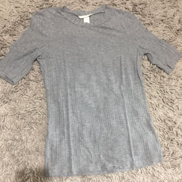 H&M ribbed top small