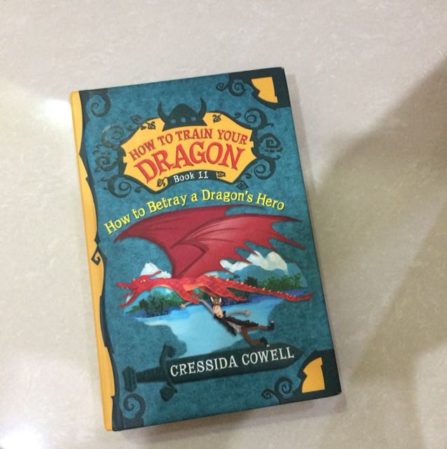 How to train dragon hard cover