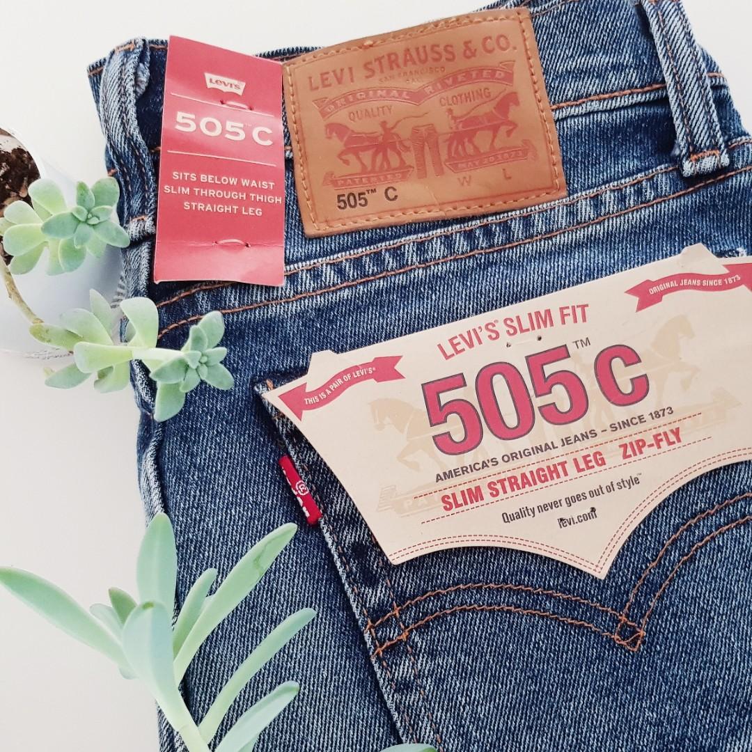 Iconic Levi's 505c Jeans