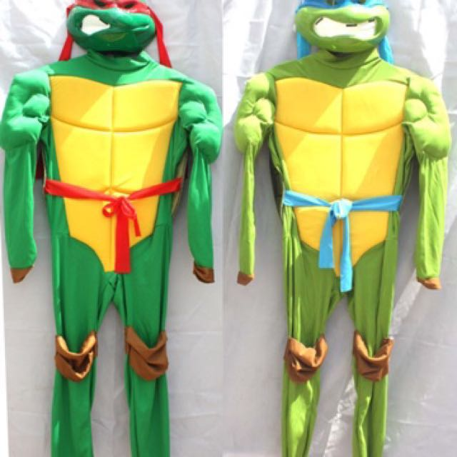 In Stock Tmnt Costume Teenage Mutant Ninja Turtles Suit Halloween