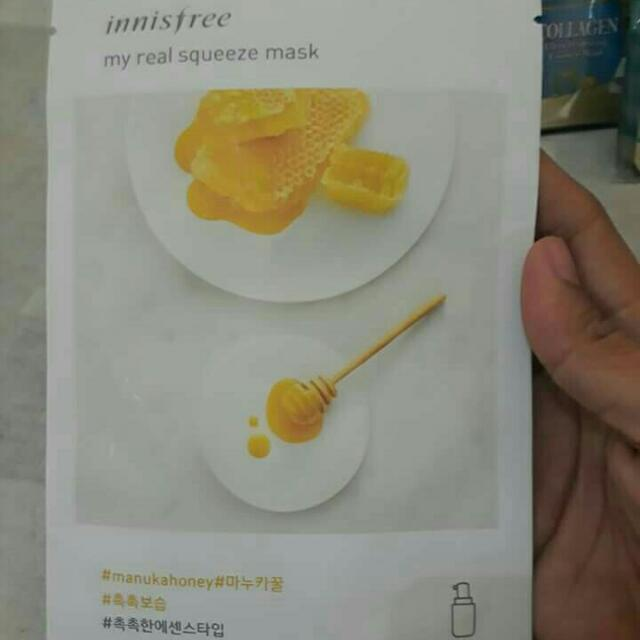 Innisfree Manukahoney My Real Squeeze Face Mask