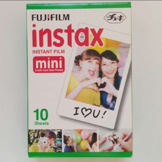 instax mini polaroid films
