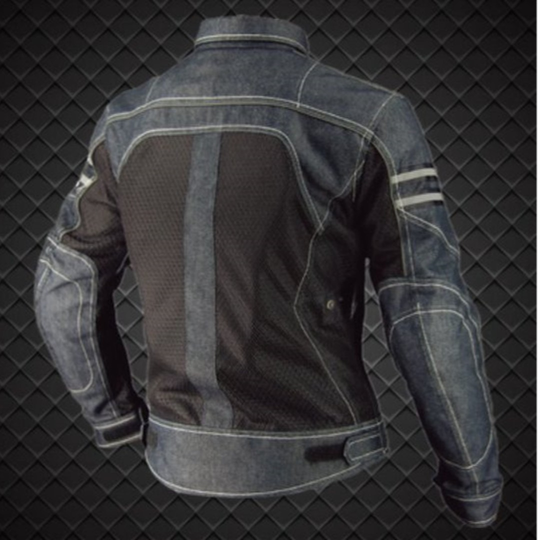INSTOCK Motorbikes - Denim Riding Jacket