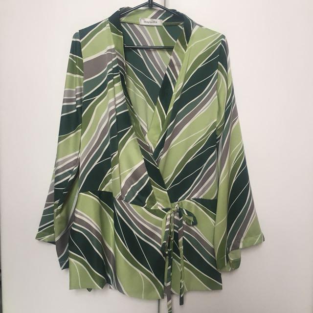 kimono / outer tropical