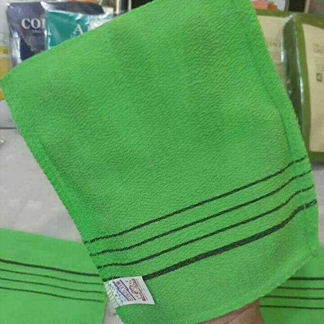 Authentic Korean Viscose Towel (BEST SELLER) Italy Towel Body Scrub