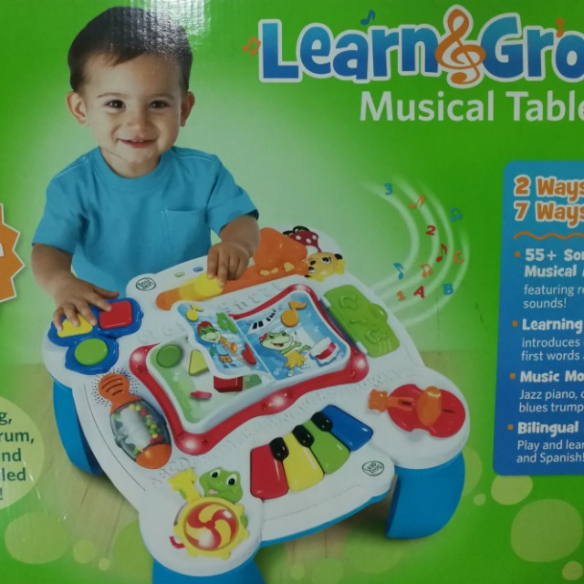 Learn and Groove Music Table