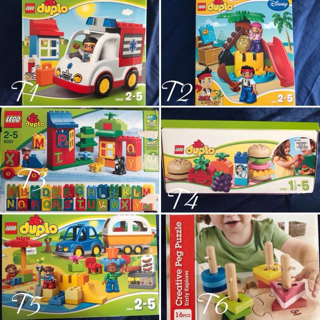 Lego Duplo And Hape Babies Kids Toys Walkers On Carousell