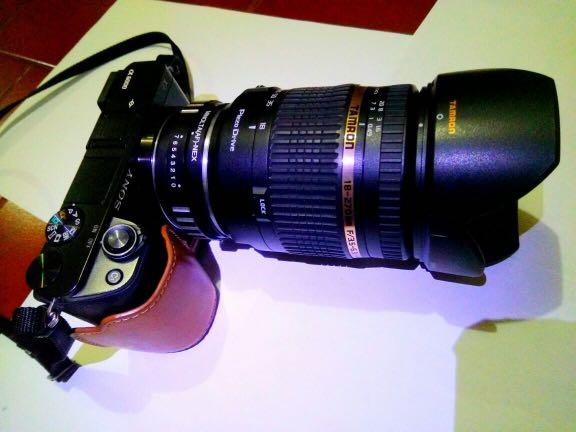 Lensa Tamron 18-270 PD sony