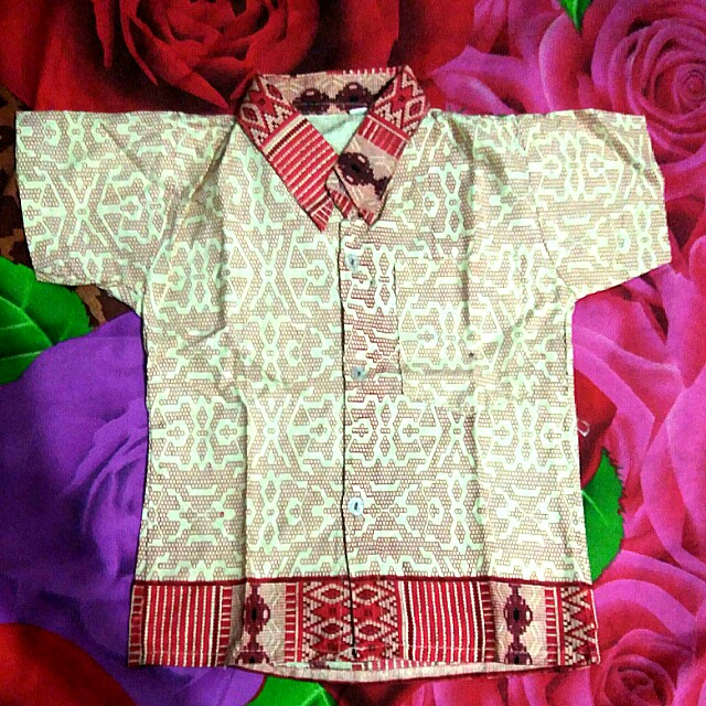 #MakinTebel preloved batik anak 1th