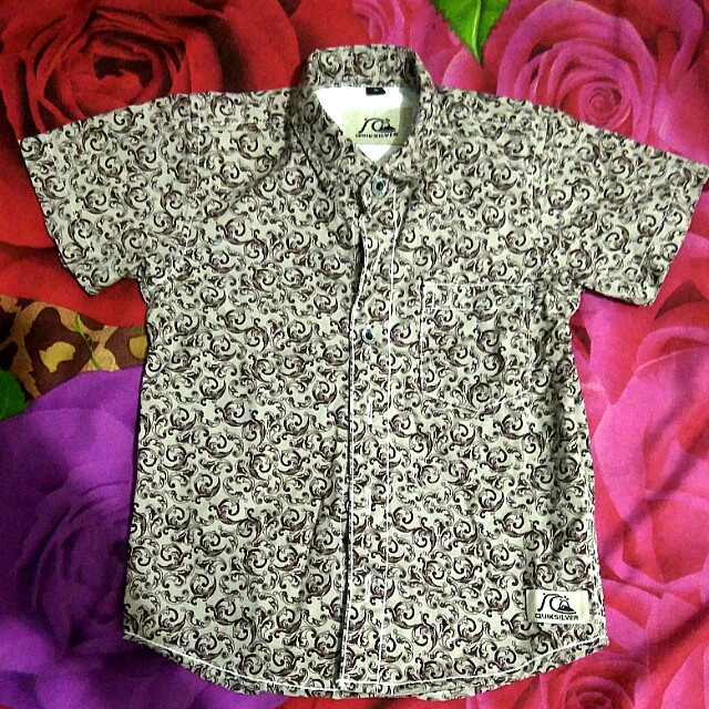 #MakinTebel preloved Quicksilver baju anak 1th