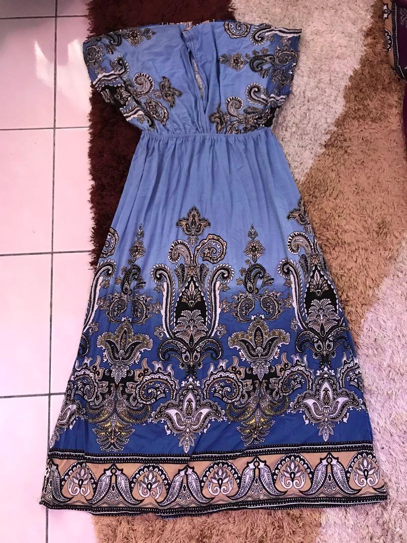 Maxi Dress Kimono Orient