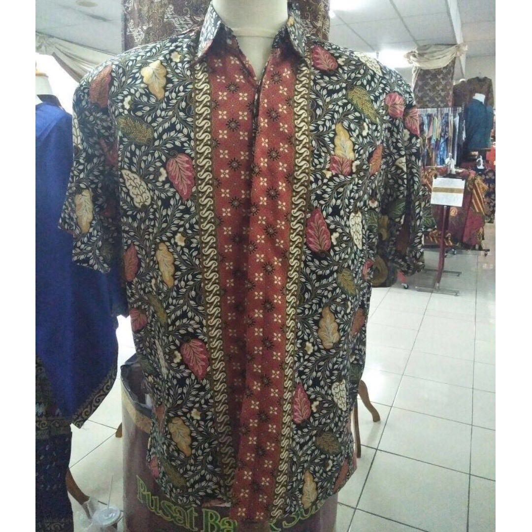 895ffba244b56 Men's Batik Shirt, Men's Fashion, Clothes on Carousell