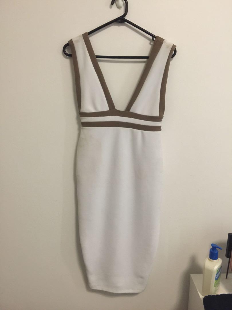 Mia midi nookie dress