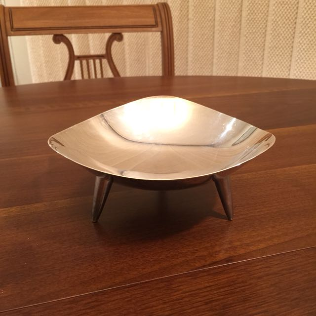 Mid Century Modern Footed Candy Dish