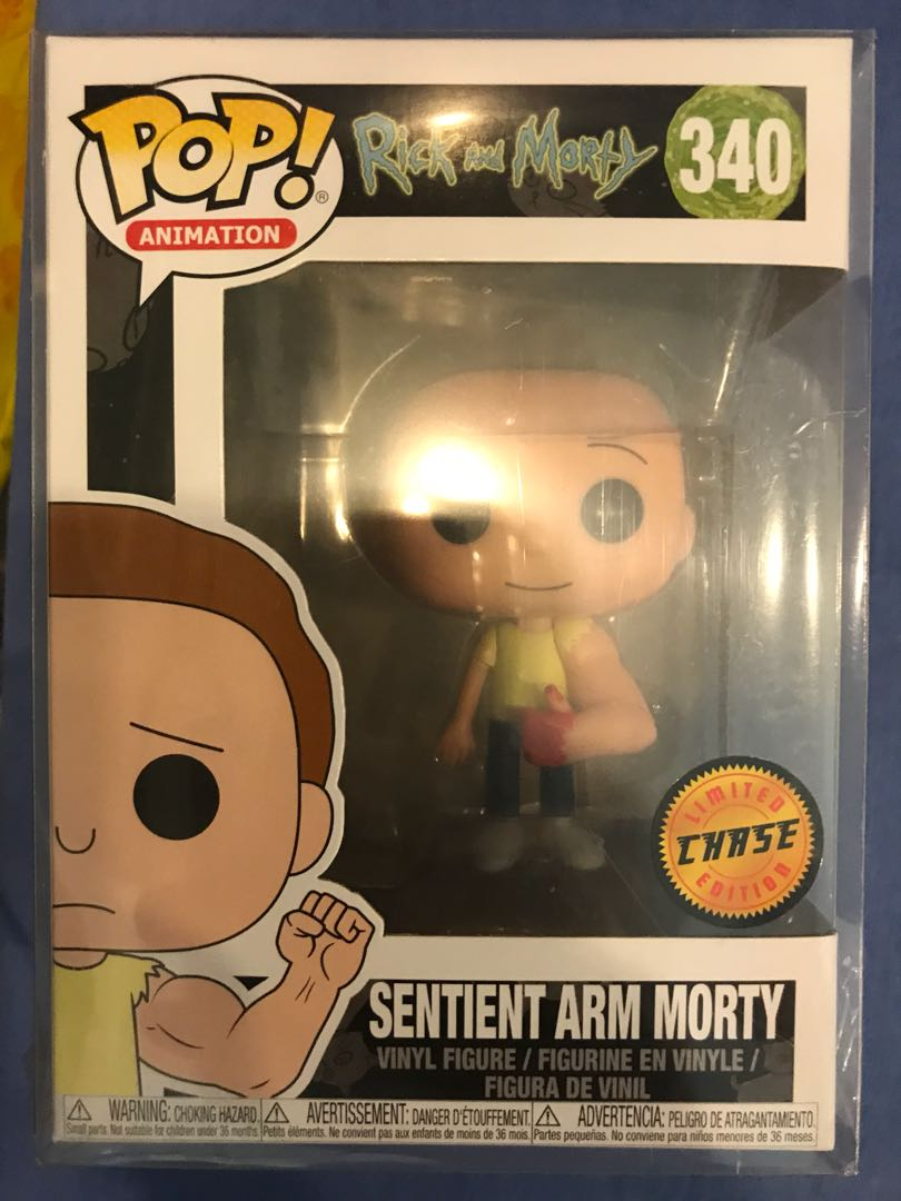 Morty sentinel Arm Chase Funko
