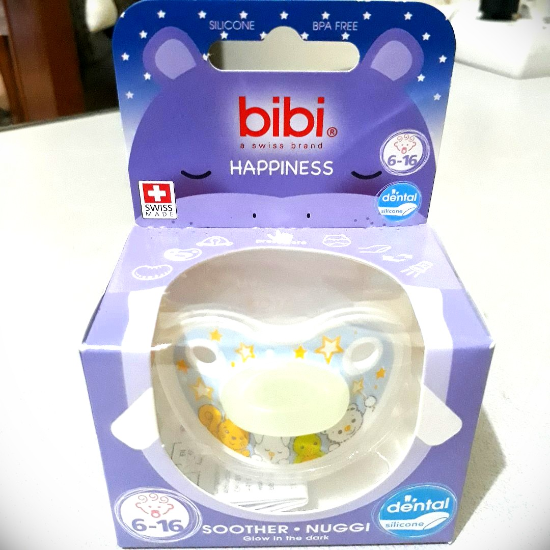 NEW Bibi Dental Soother glow in the dark | empeng