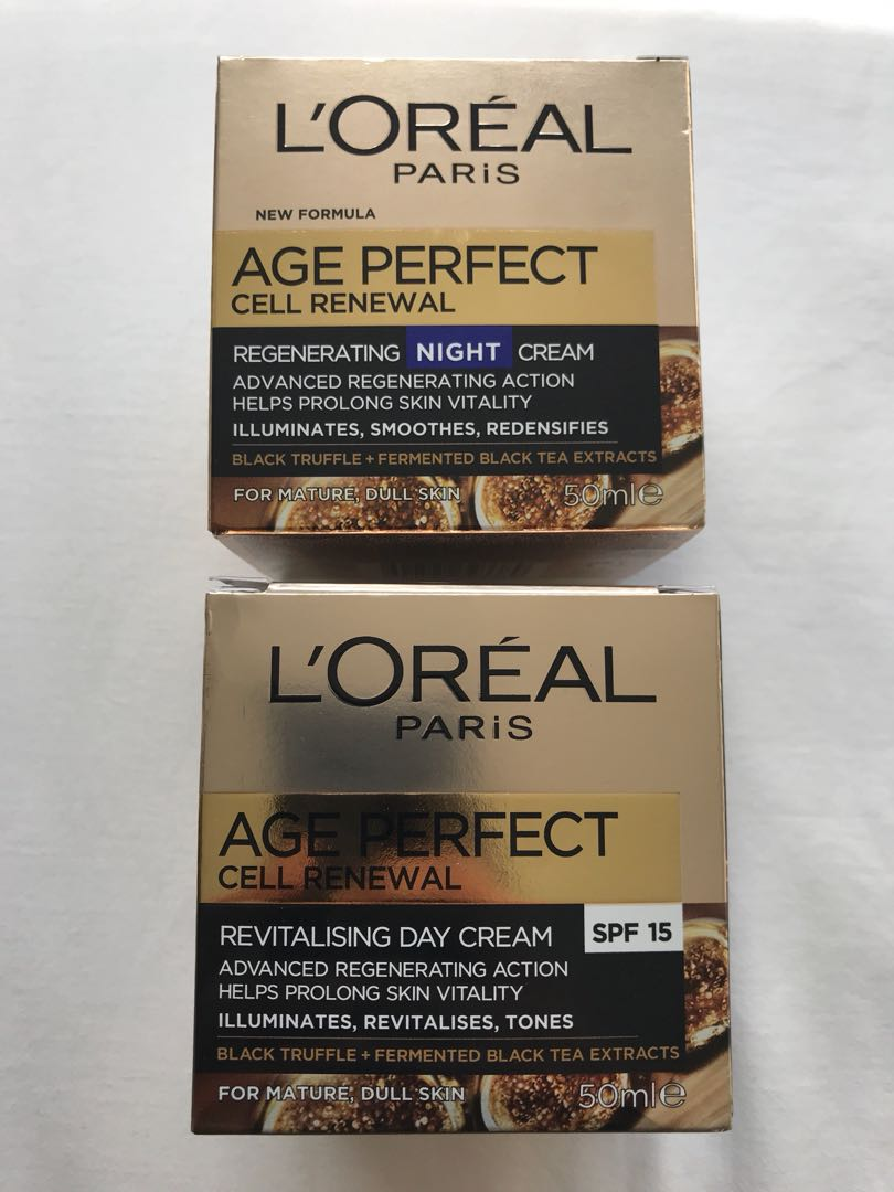 New L'Oréal Cell Renewal Creams