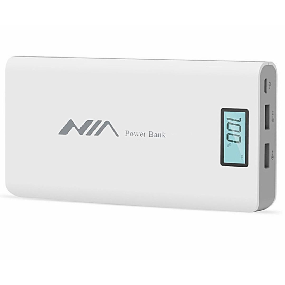 NIA 20000 MAH Powerbank with Free Random Item