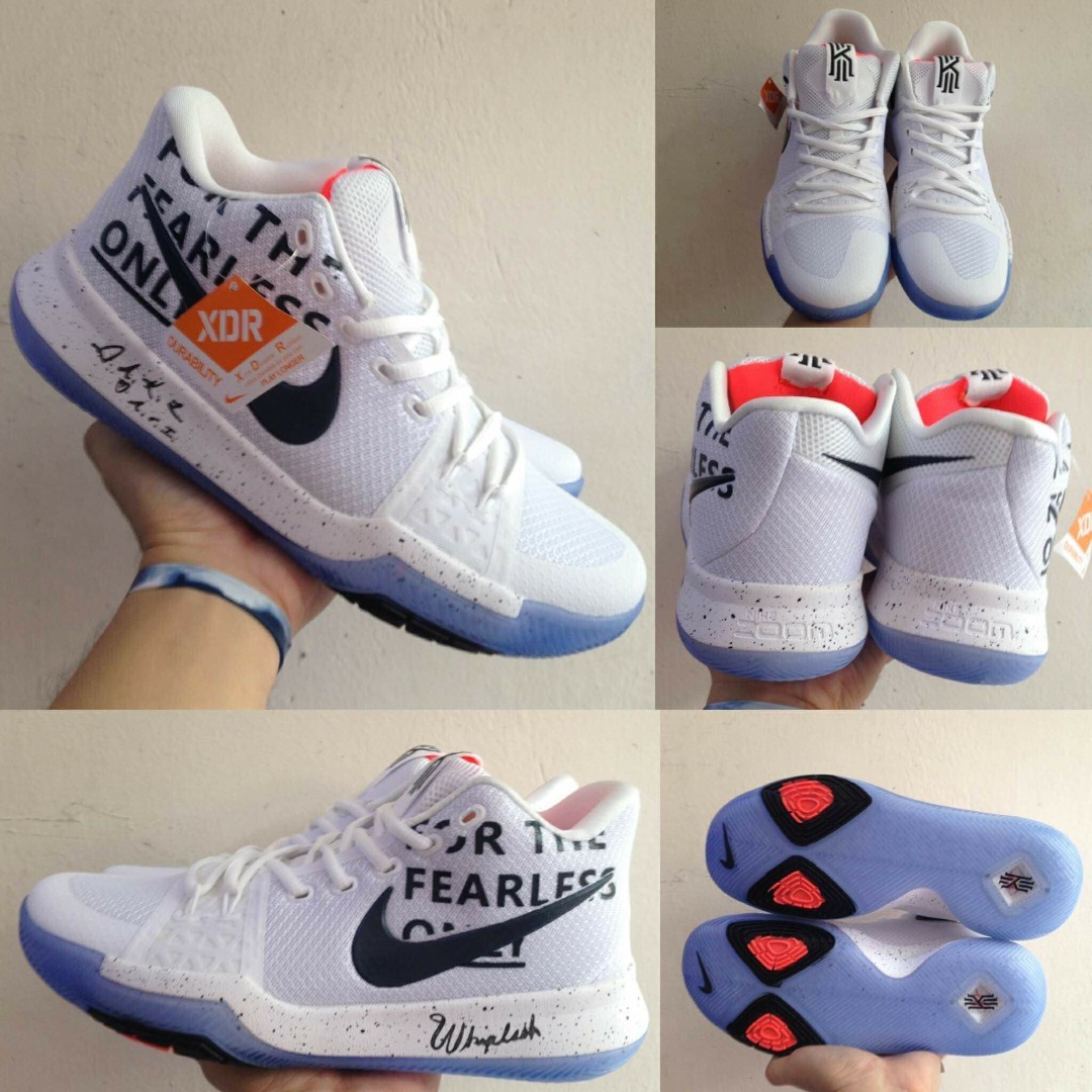 low priced 1bc7a dcd56 NIKE - Kyrie 3 For The Fearless Only, Men's Fashion ...