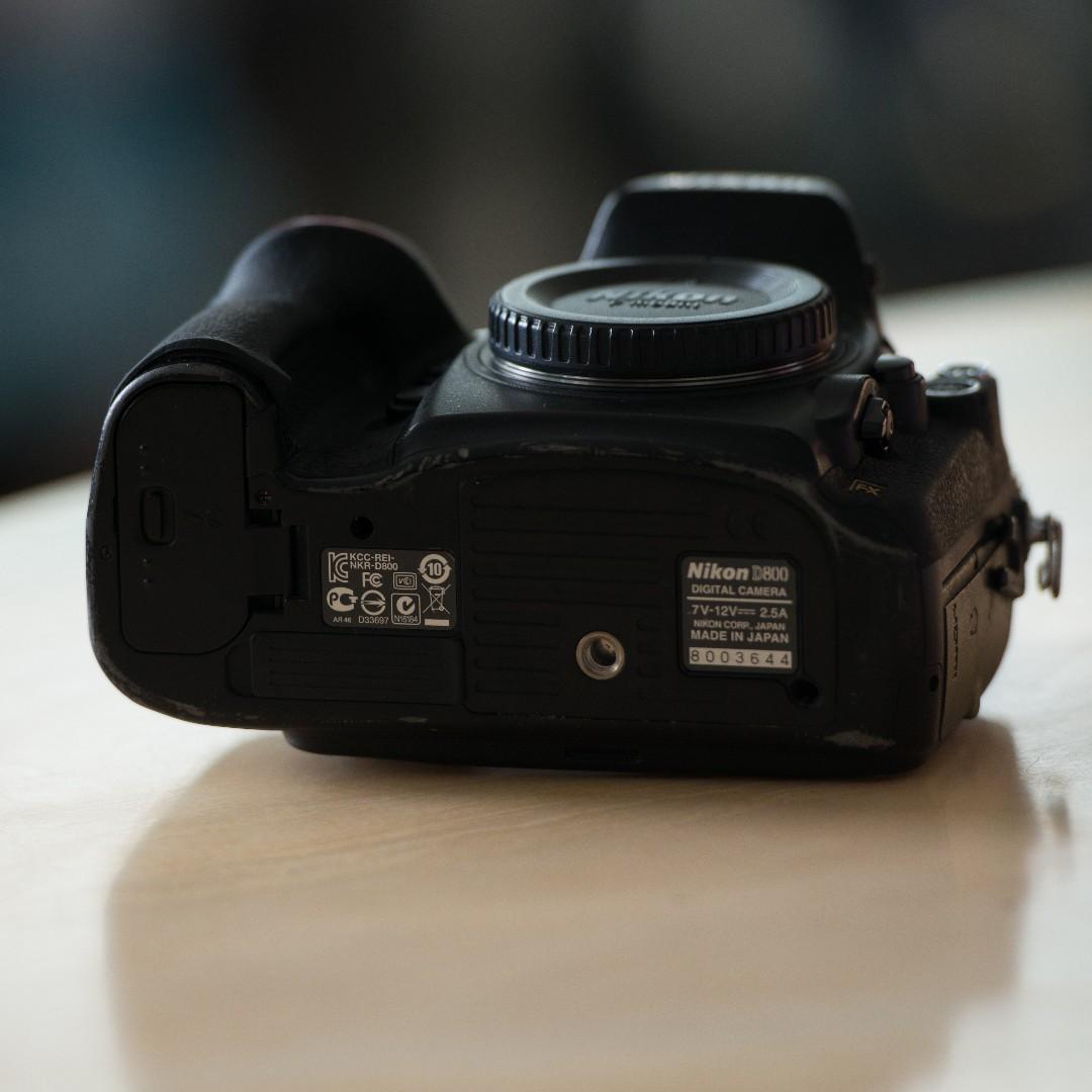 Nikon D800 full frame DSLR camera, Photography on Carousell