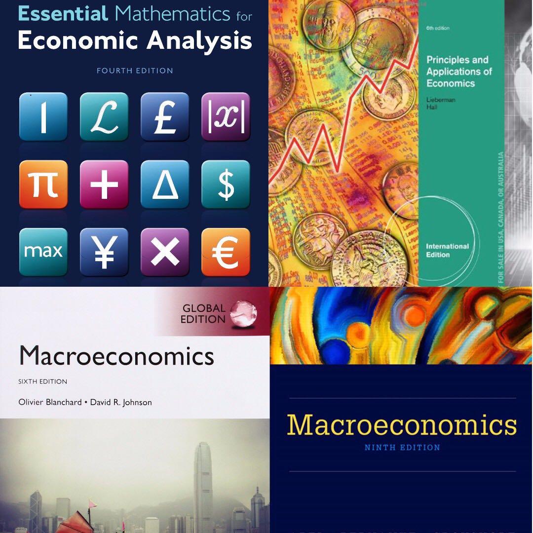 NUS Economics Core Module Textbooks/Resources (EC1101E