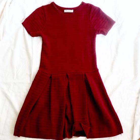 N.y.L.a. Knit Mini Dress
