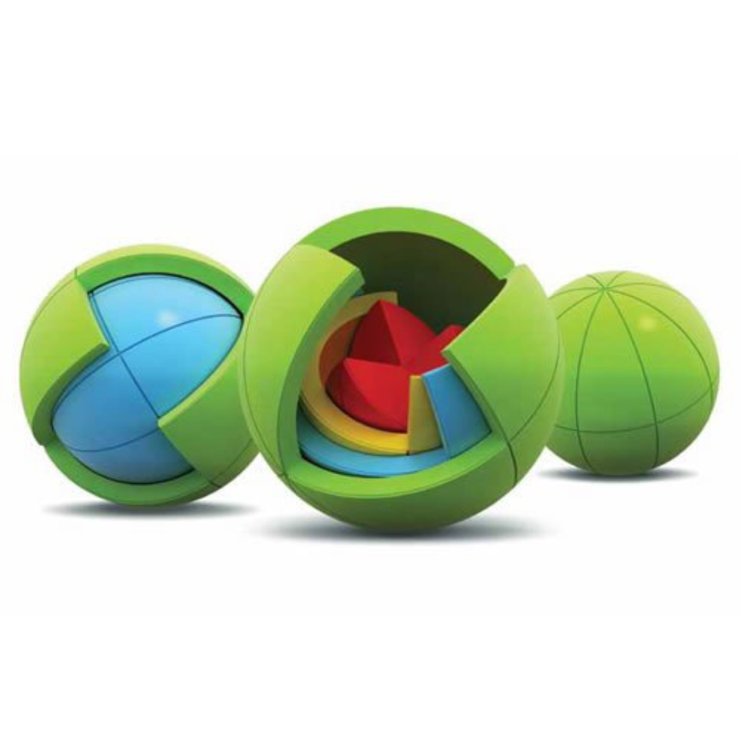 Oblo puzzle sphere. Ideal gift for children age 4+. DISCOUNTED!