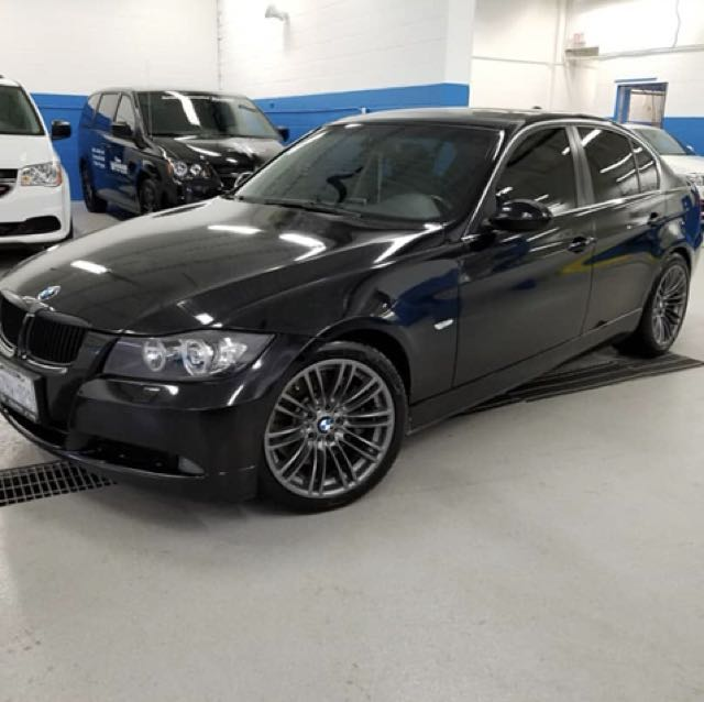 """OEM BMW 19"""" rims and tires"""