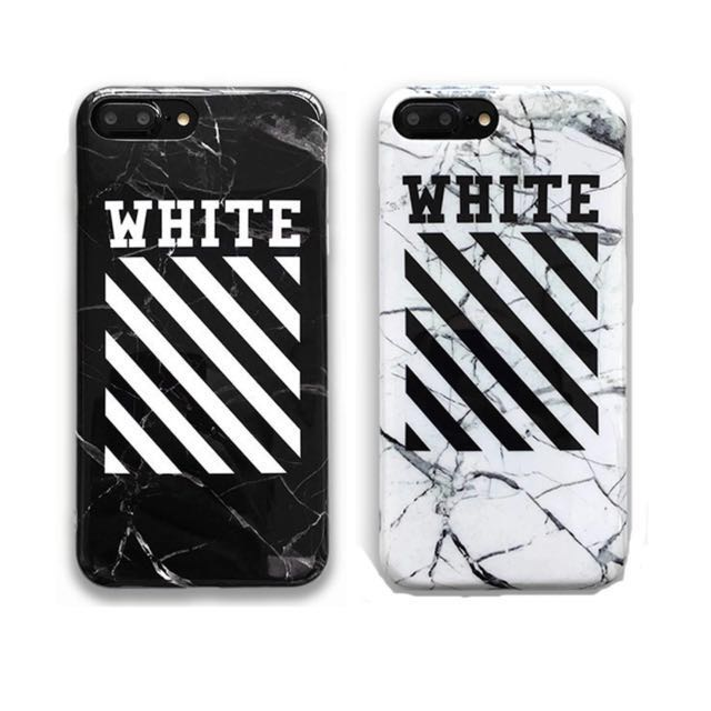 best loved ae25e da458 Off White iPhone X Case iPhone 8 7 6 Plus Fashion Off-White