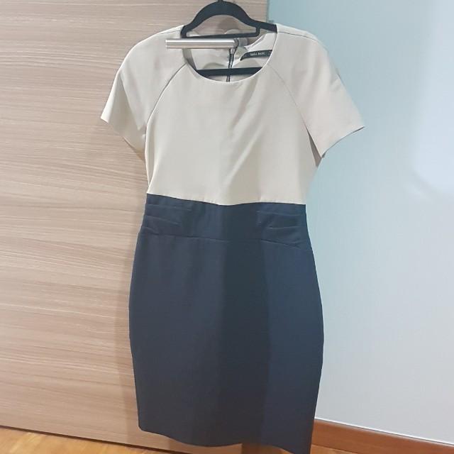 8e783f53b Office Dress Zara