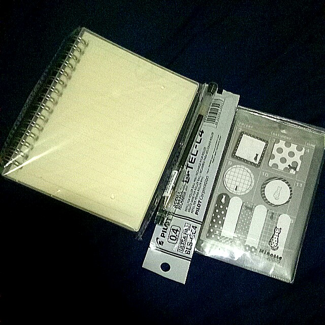 ONHAND BUNDLE: NOTEBOOK, PEN, AND STICKY NOTED
