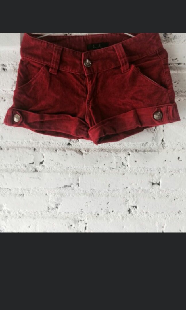 Open Barter / SALE Hot Pants L.A Red