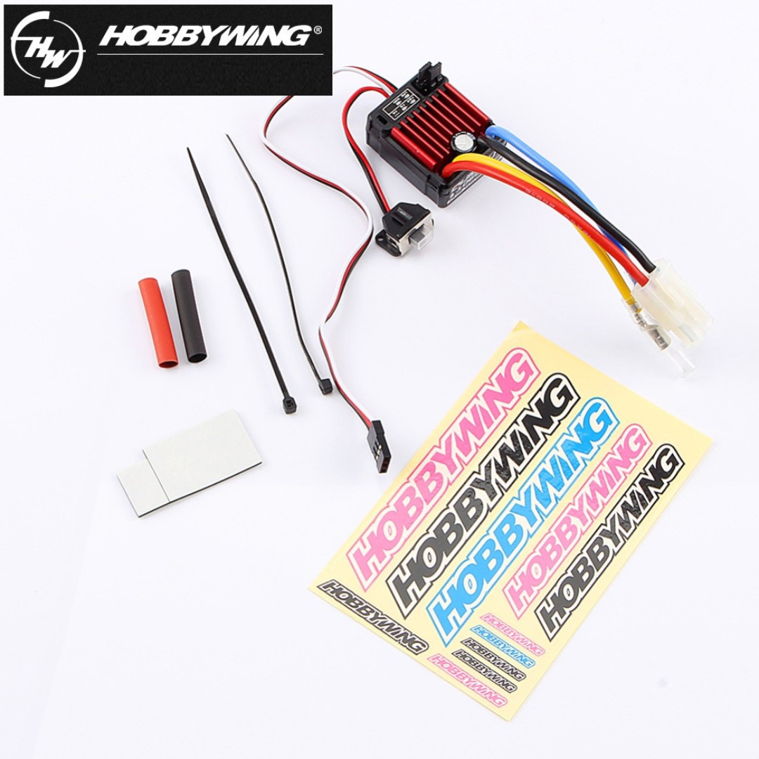 Original Hobbywing Quicrun 1060 60a Brushed Electronic Speed Controller Circuit Esc For 110 Rc Car Waterproof Toys Games Diecast Toy Vehicles On Carousell