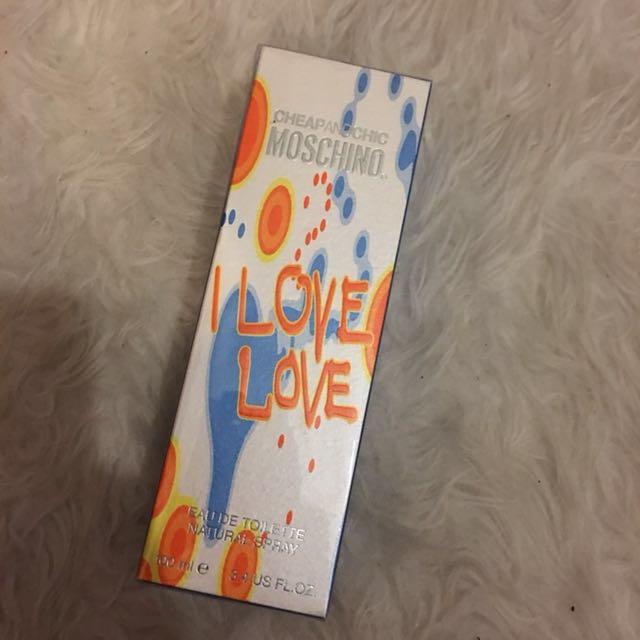 Original Unopened Moschino I Love Love Perfume