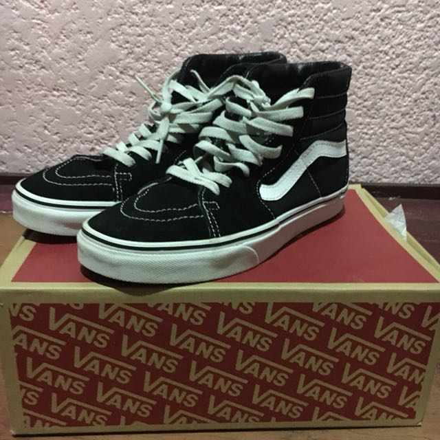 Original vans old skool sk8hi shoes