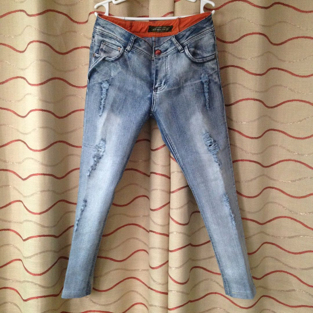 Other City: Denim Ripped Jeans (Size 31)