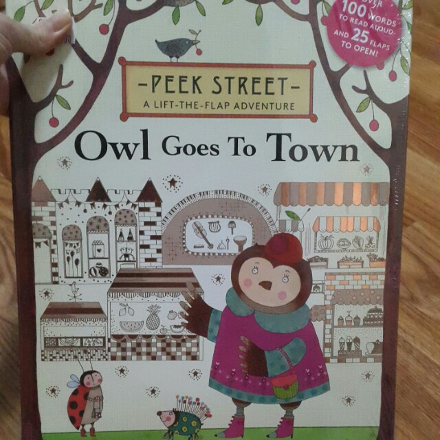 Owl goes to town - BBW Book