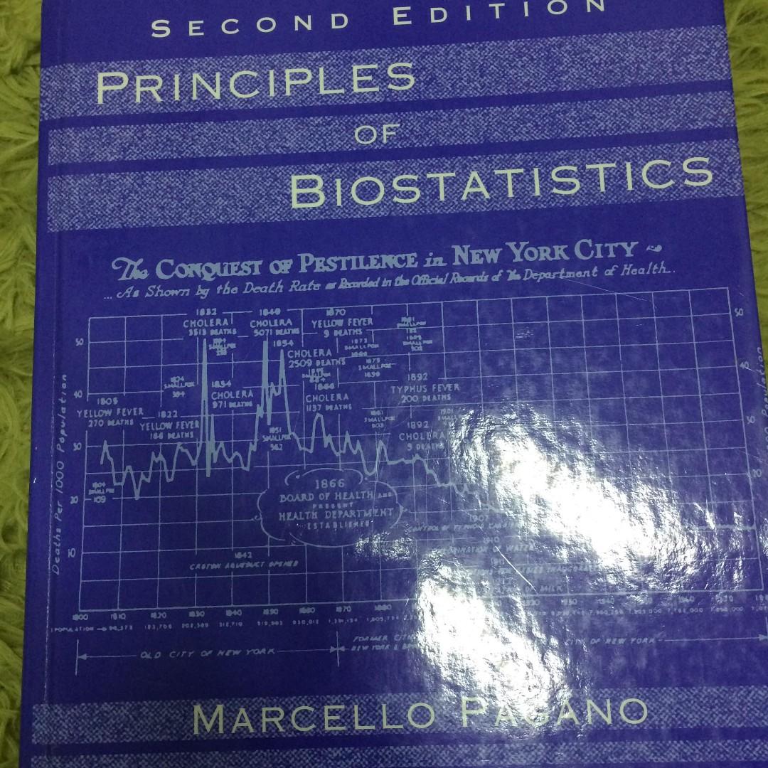 PAGANO生物統計學 #出清課本