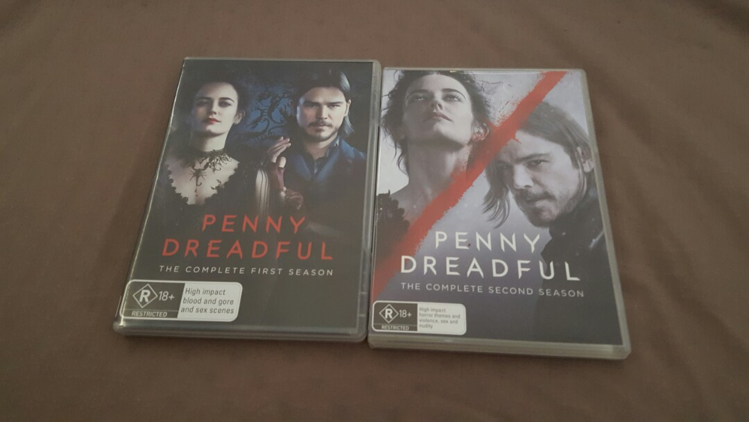 Penny dreadful seasons 1-2
