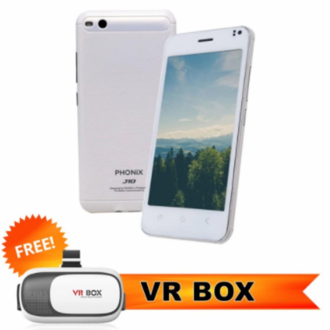 Phonix Mobile J10 Dual Sim 512MB With VR Box